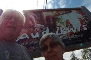 Maud Lewis Memorial Selfie