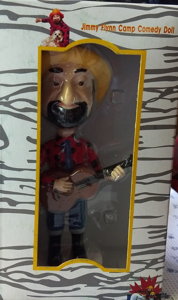 Jimmy Flynn Bobble Head Doll
